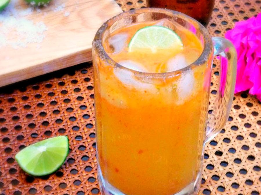 Michelada de Mango y Chamoy